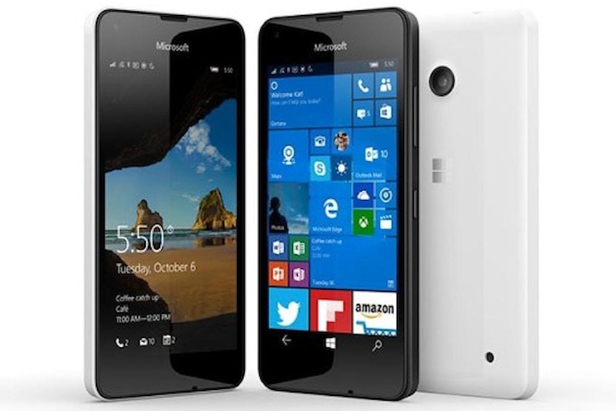 Lumia 550 ad un prezzo stracciato su Amazon - approfittane! | Surface Phone Italia