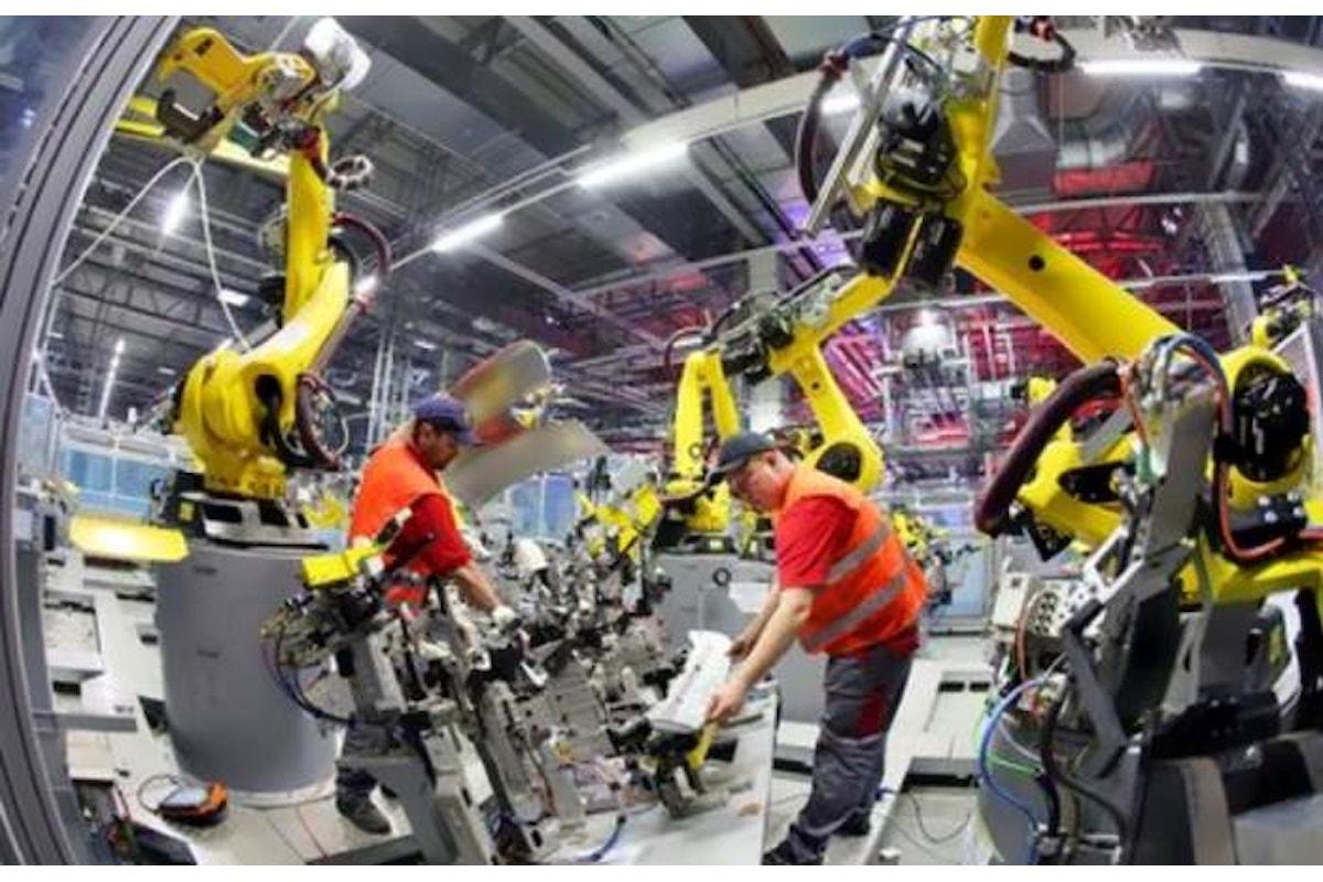 Istat, a luglio 2018 in calo la produzione industriale