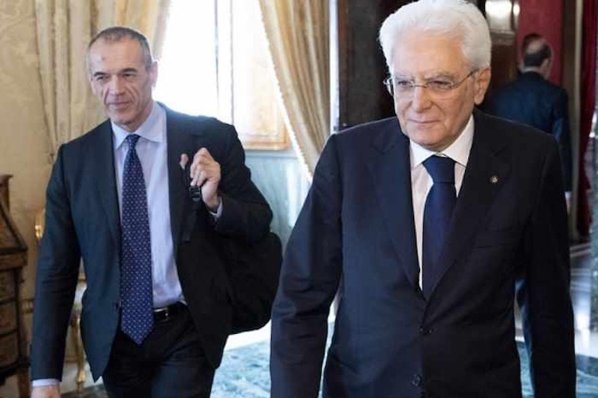 Anche Cottarelli starebbe per rinunciare. Si voterà di nuovo il 29 luglio?