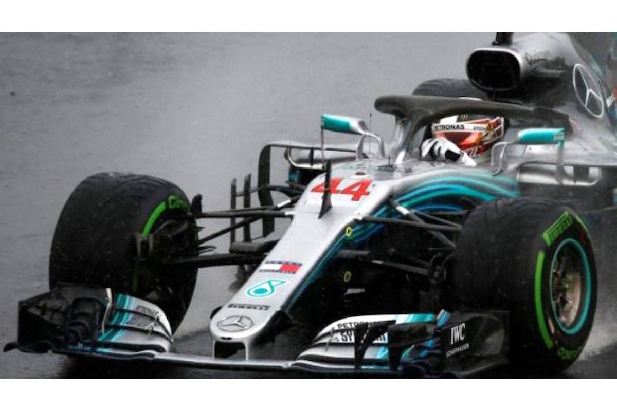 Formula 1, sotto la pioggia di Budapest Hamilton conquista la pole nel GP d'Ungheria