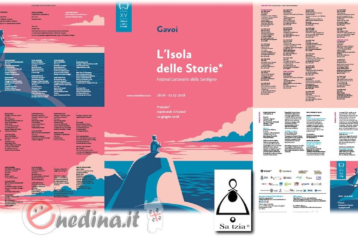 Parte il XV Festival letterario della Sardegna L'Isola delle storie