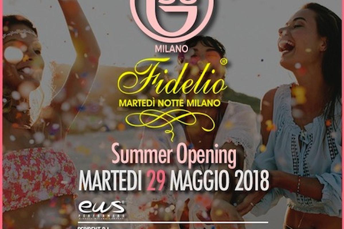 29 maggio, Fidelio Milano Summer Opening al B38