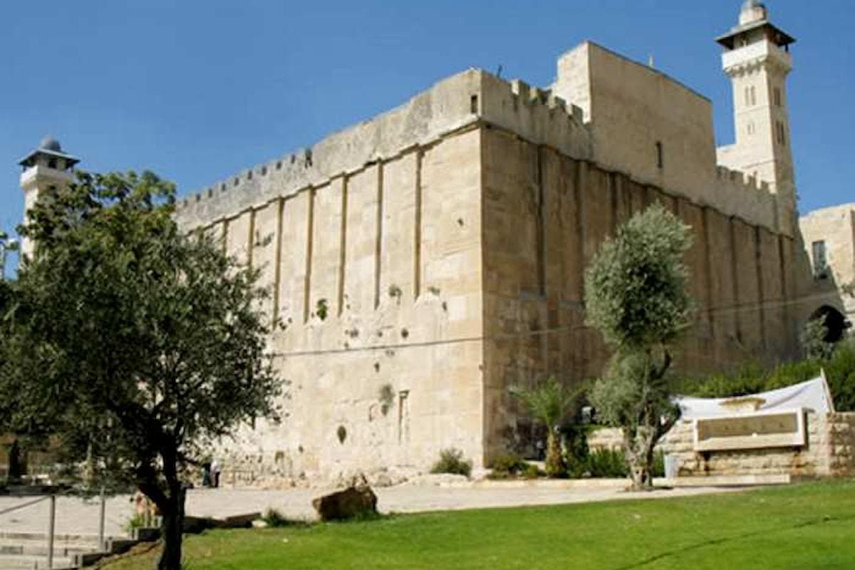 Per l'Unesco, la città vecchia di Hebron e la Tomba dei Patriarchi sono patrimonio culturale palestinese