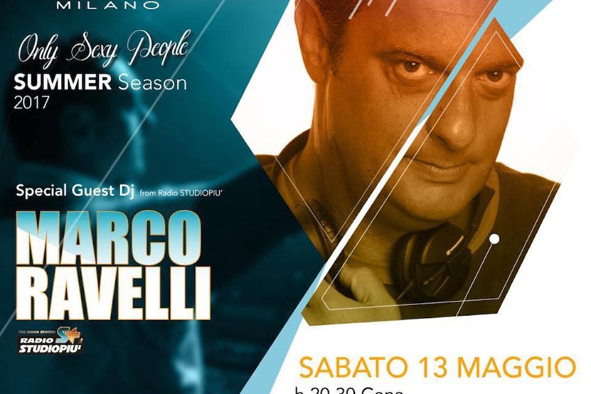 Pelledoca Milano: 13/05 Marco Ravelli… e si balla dal giovedì alla domenica