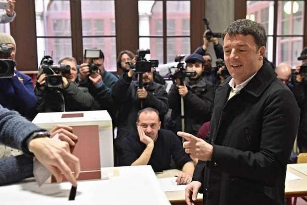 La vittoria a metà del Partito Democratico di Matteo Renzi