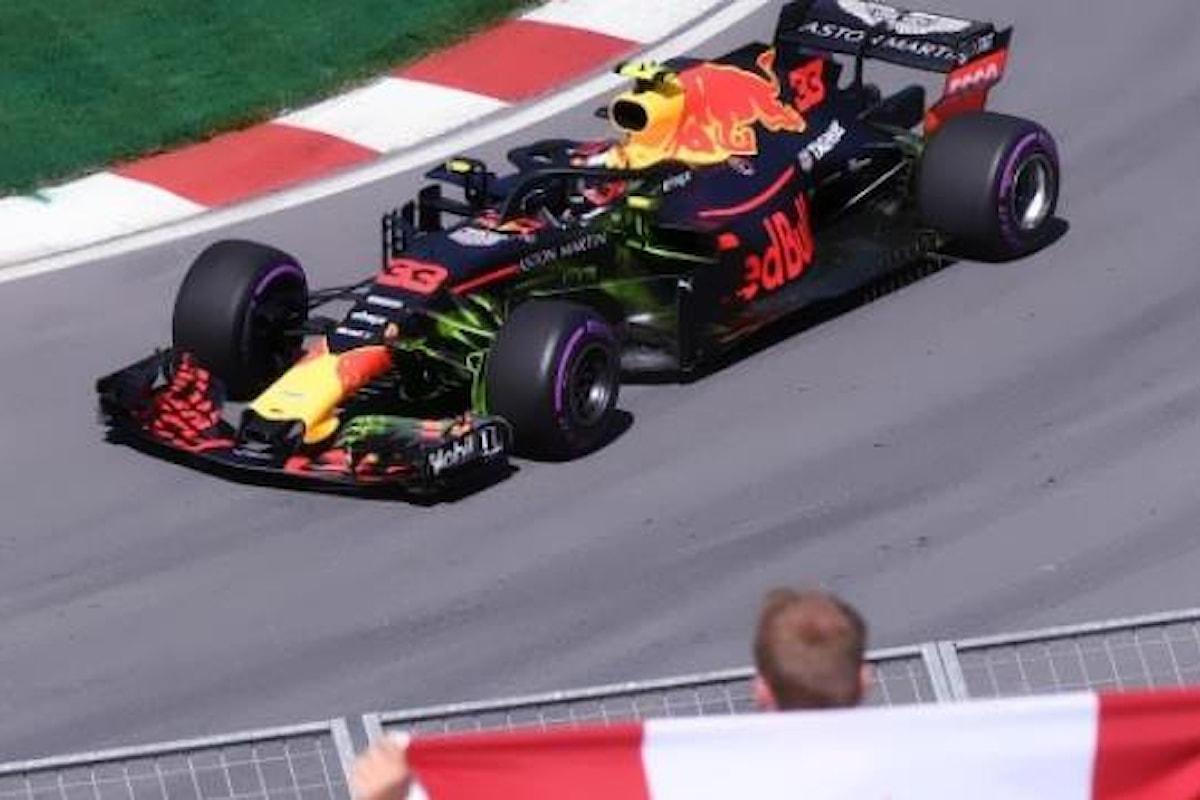 Formula 1, è stato Verstappen ad aggiudicarsi il venerdì del Gran Premio del Canada 2018