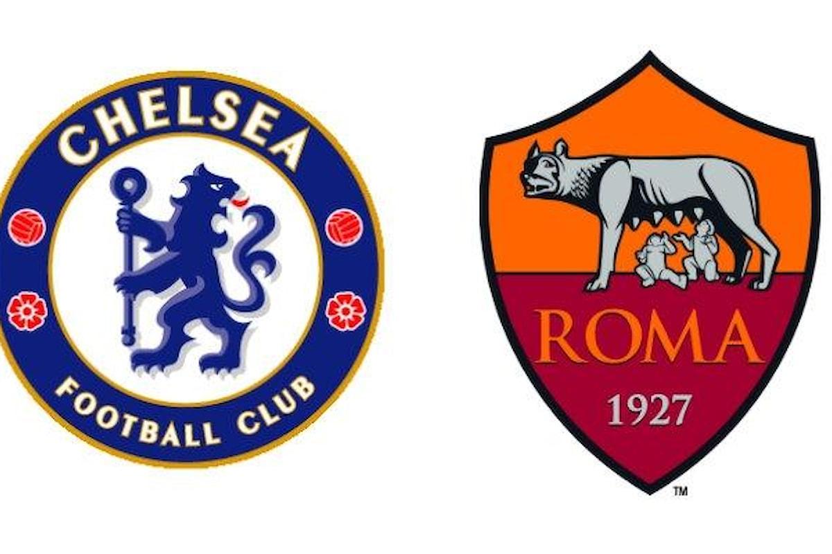 Terzo turno di Champions League, le probabili formazioni per Chelsea-Roma