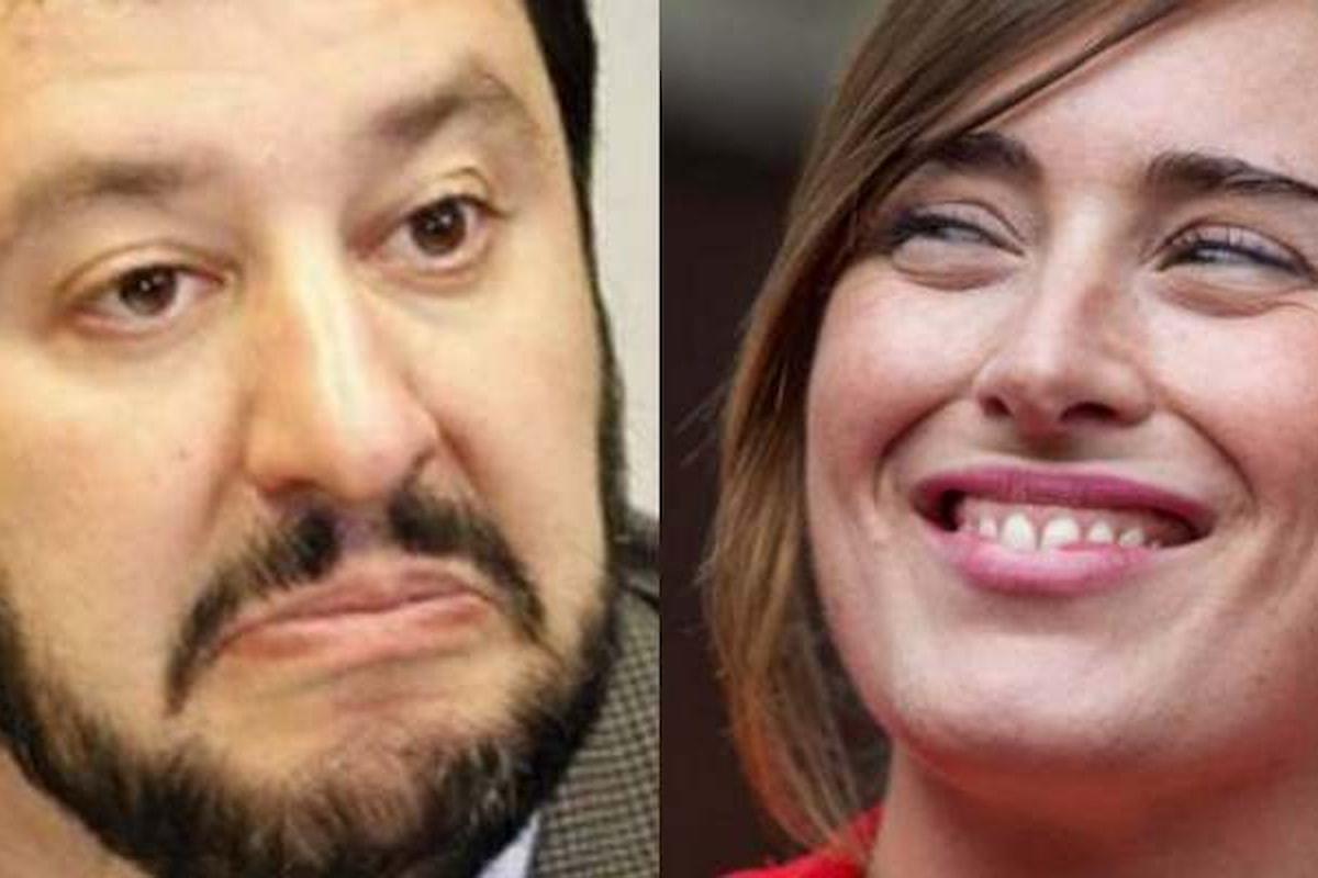Boschi e Salvini ad Otto e Mezzo? No, forse... Sì
