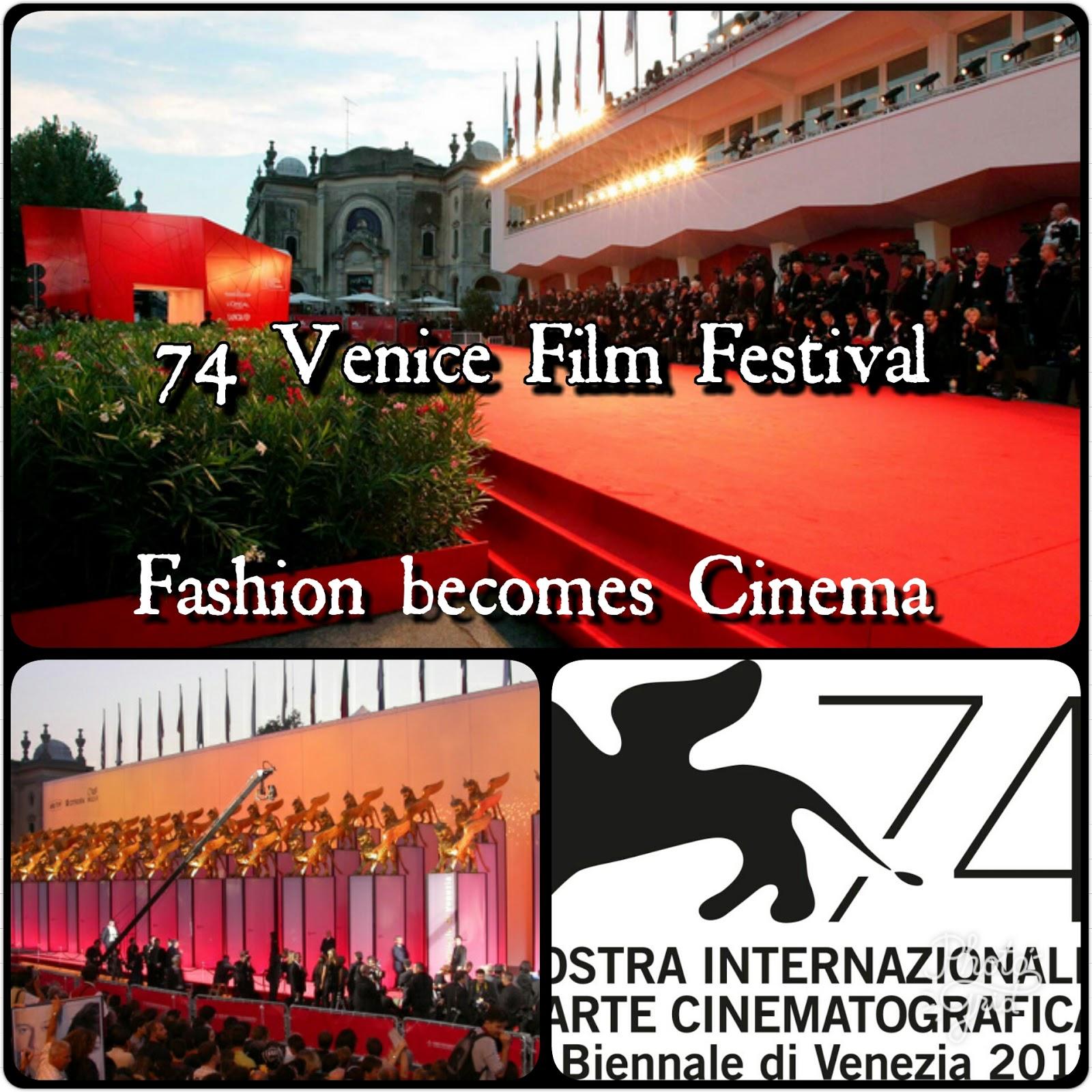 Festival del Cinema Venezia 2017: il Cinema diventa Moda... e il Glamour vince!
