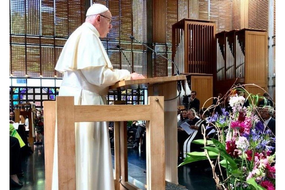 A Ginevra, in occasione del Wcc, Francesco invoca l'unità dei cristiani e non solo