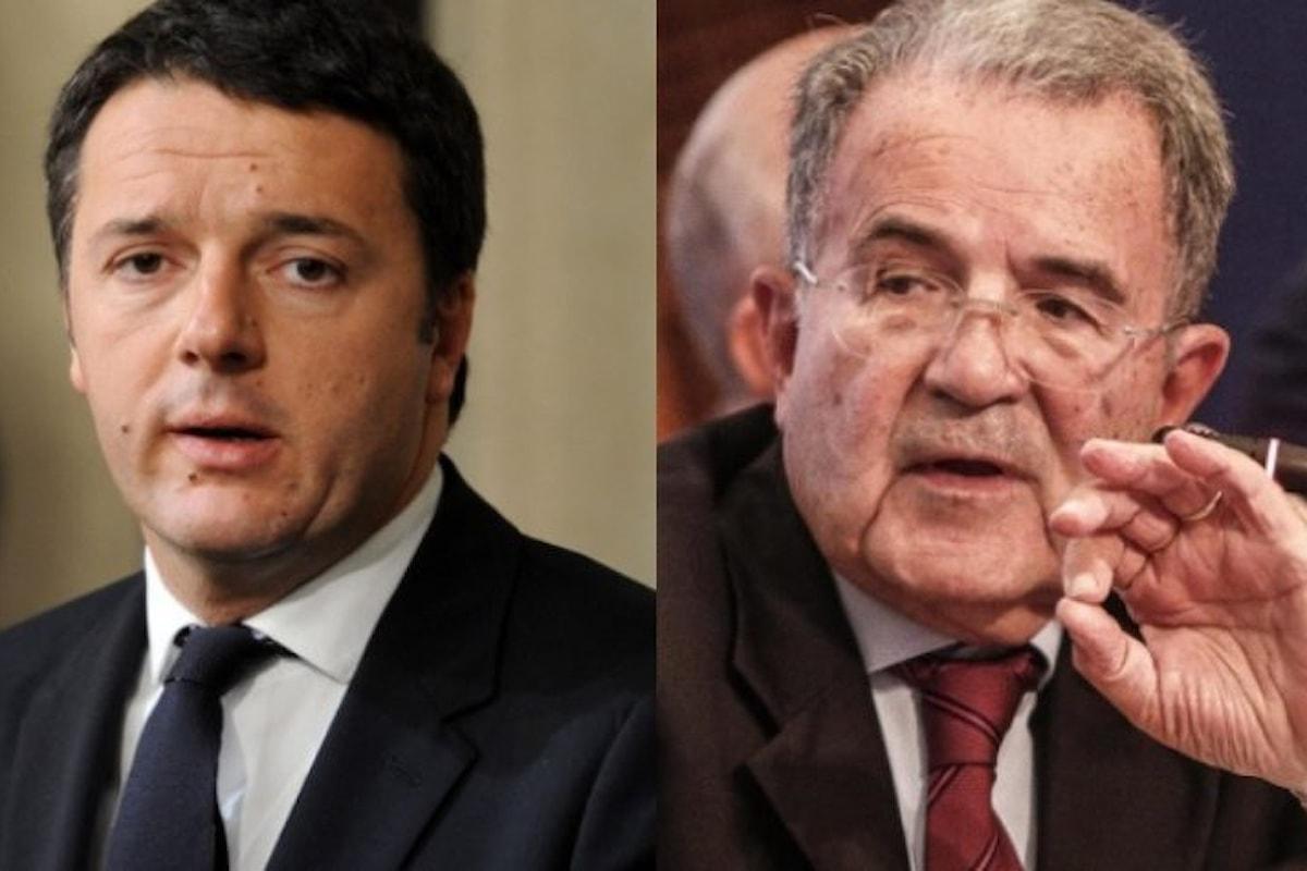 Renzi chiama Prodi