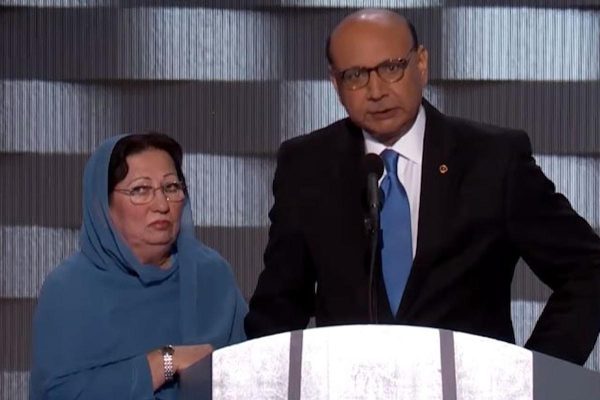 L'attacco di Trump ai genitori del soldato musulmano. Questa volta è troppo anche per i suoi sostenitori