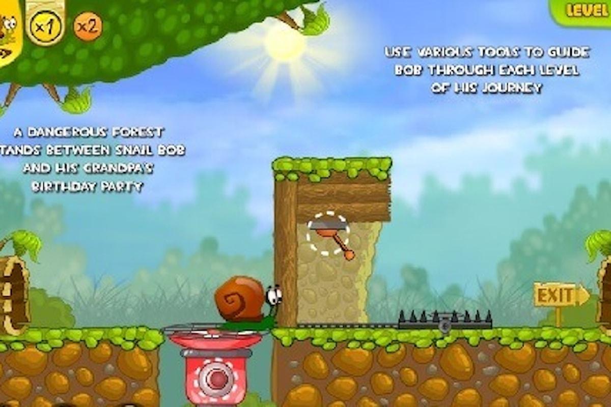Snail Bob, videogioco adatto ai piccolissimi