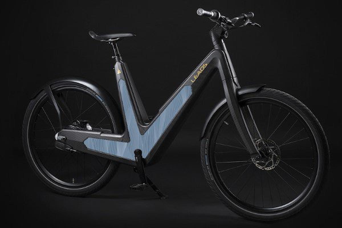 Bici elettrica fotovoltaica, LEAOS Solar E-Bike
