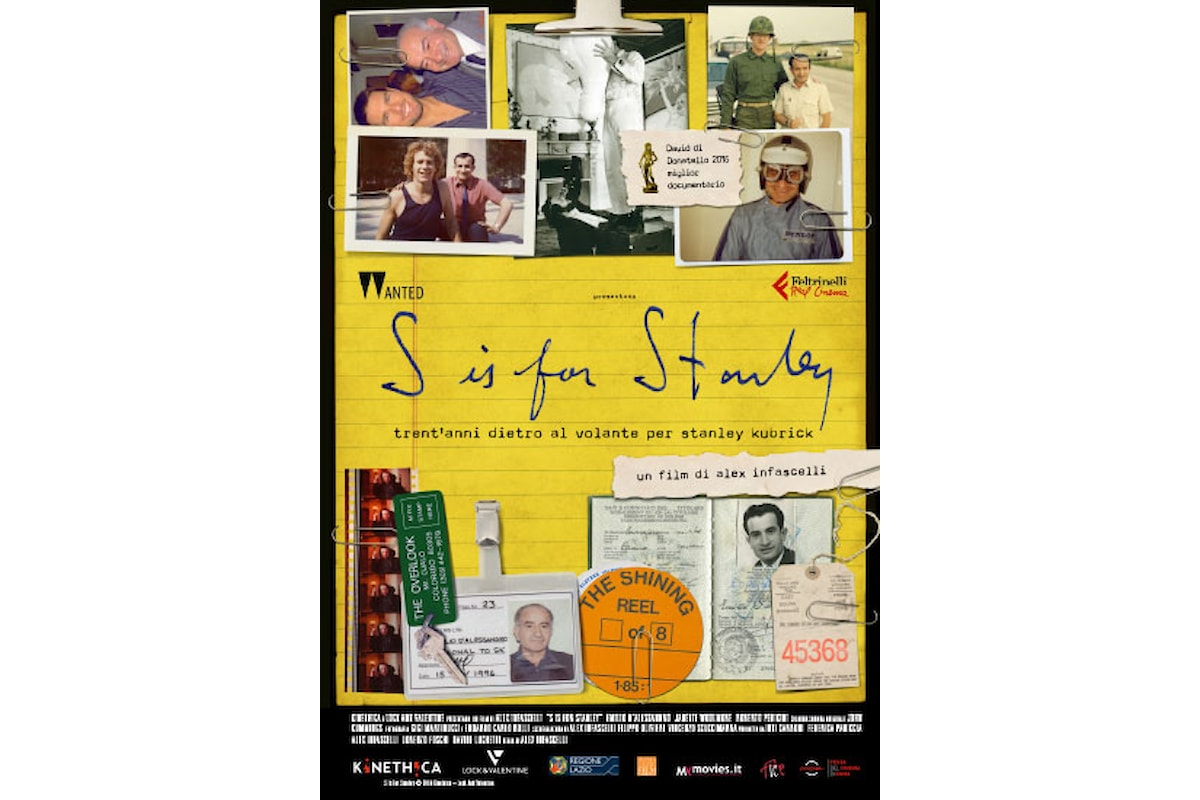 Eventi cinematografici: il film S IS FOR STANLEY