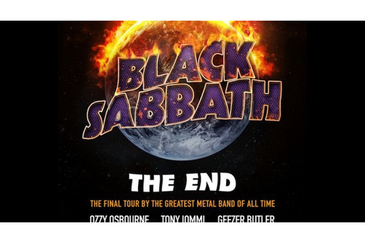 La FINE dei BLACK SABBATH!