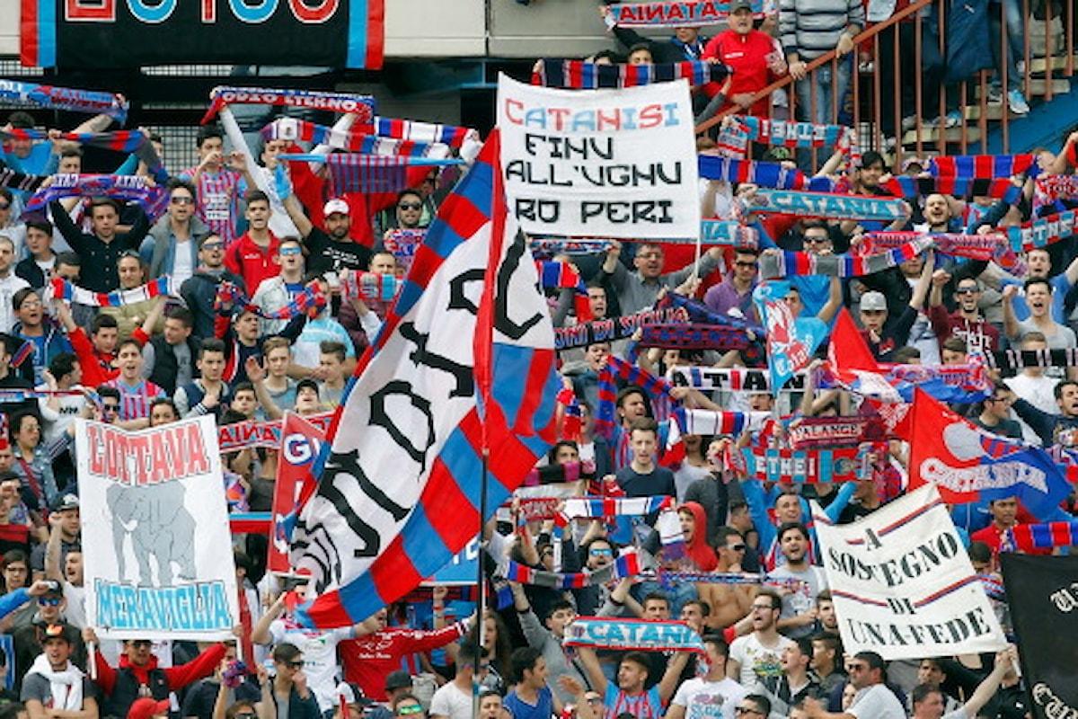 Catania, polizia evita agguato degli ultras etnei a supporters della Juve Stabia