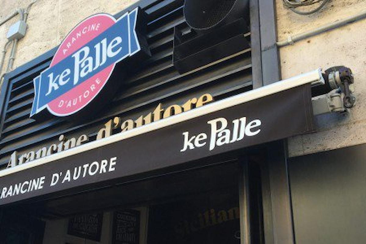 Palermo, colla attak nelle serrature dei negozi Ke Palle
