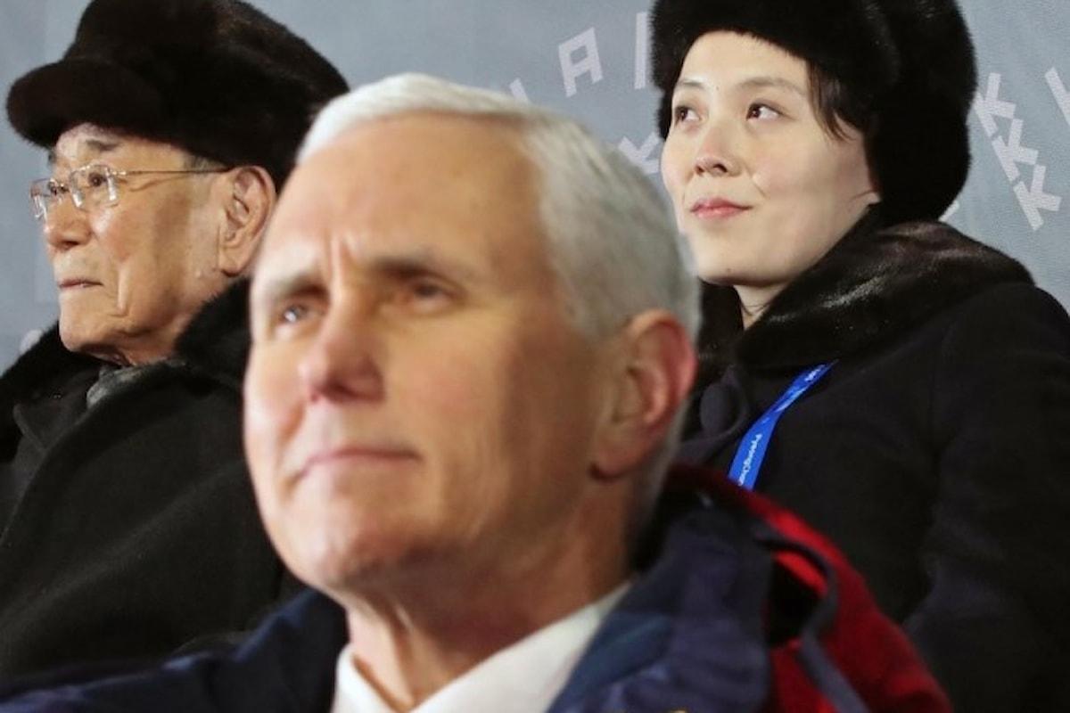 Pence conferma la possibilità di futuri colloqui diretti tra Pyongyang e Washington