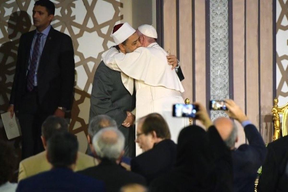 La prima giornata in Egitto di Papa Francesco