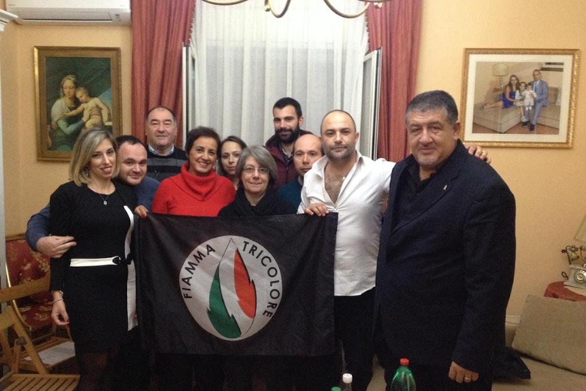 Intitolata a Nello Vecchio la sezione del Movimento Sociale Fiamma Tricolore. (Acireale)