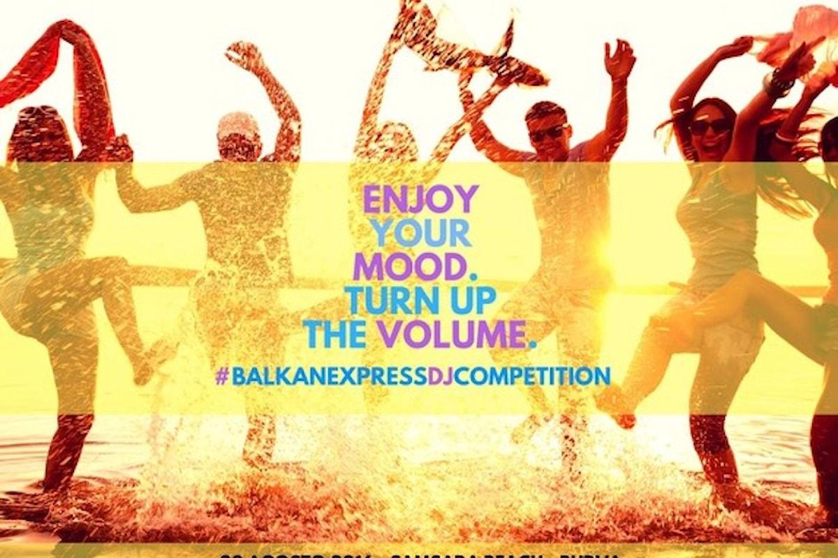 28/8 Balkan Express DJ Competition @ Samsara Deluxe Budva (Montenegro)