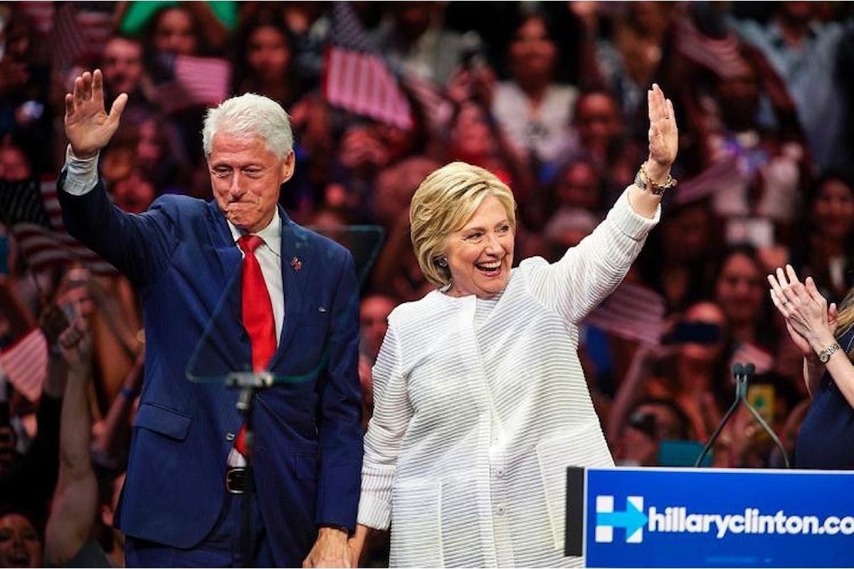 Hillary Clinton, una donna, ma soprattutto una moglie, candidata alla Casa Bianca