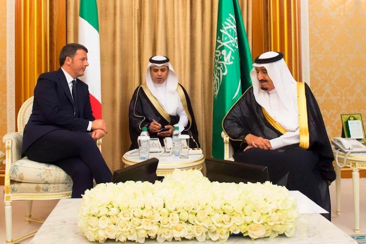 Bombe italiane vendute da Renzi all'Arabia Saudita hanno ucciso dei civili in Yemen, ma lui non ha niente da dire