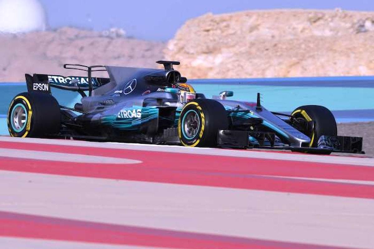 Domenica la Formula 1 riprende con il Gran Premio del Bahrain