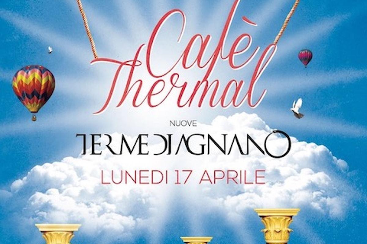 17 aprile, Cafè Thermal alle Terme di Agnano (Napoli)