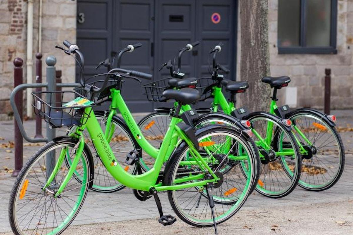 Torino la prima città italiana che inaugura il servizio di bike sharing Gobee.bike