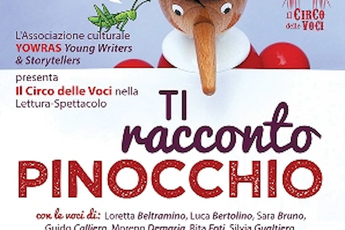Ti racconto Pinocchio, Lettura-Spettacolo