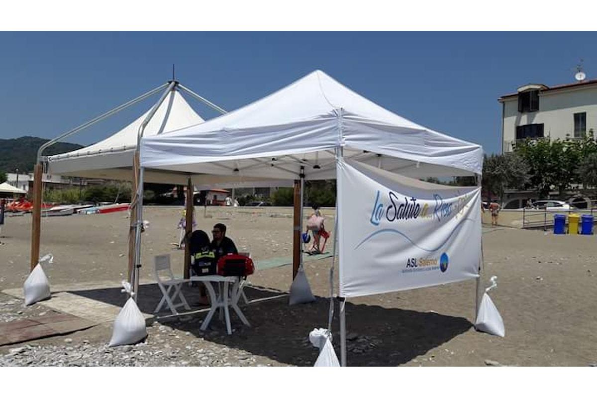 """Asl in Tour – La salute a…Riva"""", al via sul mare di Salerno e provincia"""