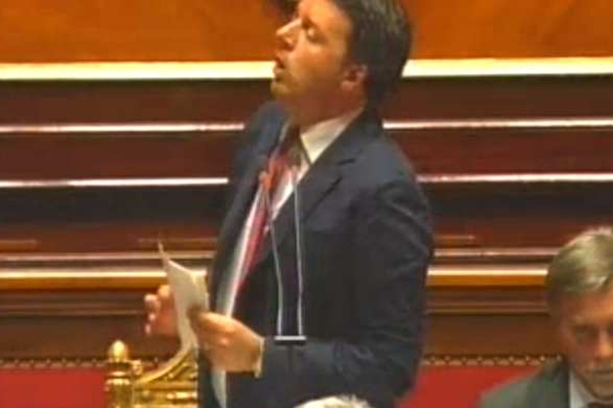 La sfiducia al Governo, bocciata al Senato, è l'occasione per l'ennesimo attacco di Renzi a magistrati e opposizione