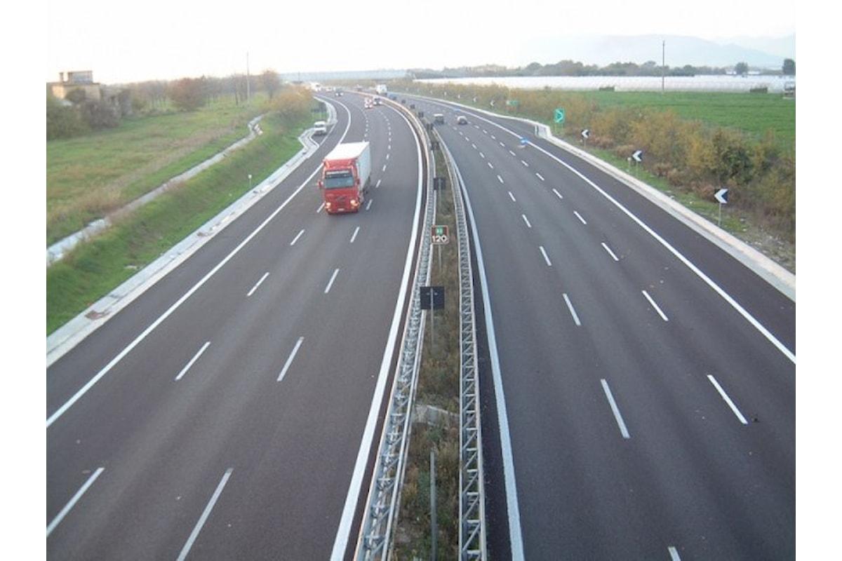 A2 del Mediterraneo (ex Salerno-Reggio Calabria), stop ai cantieri fino a settembre