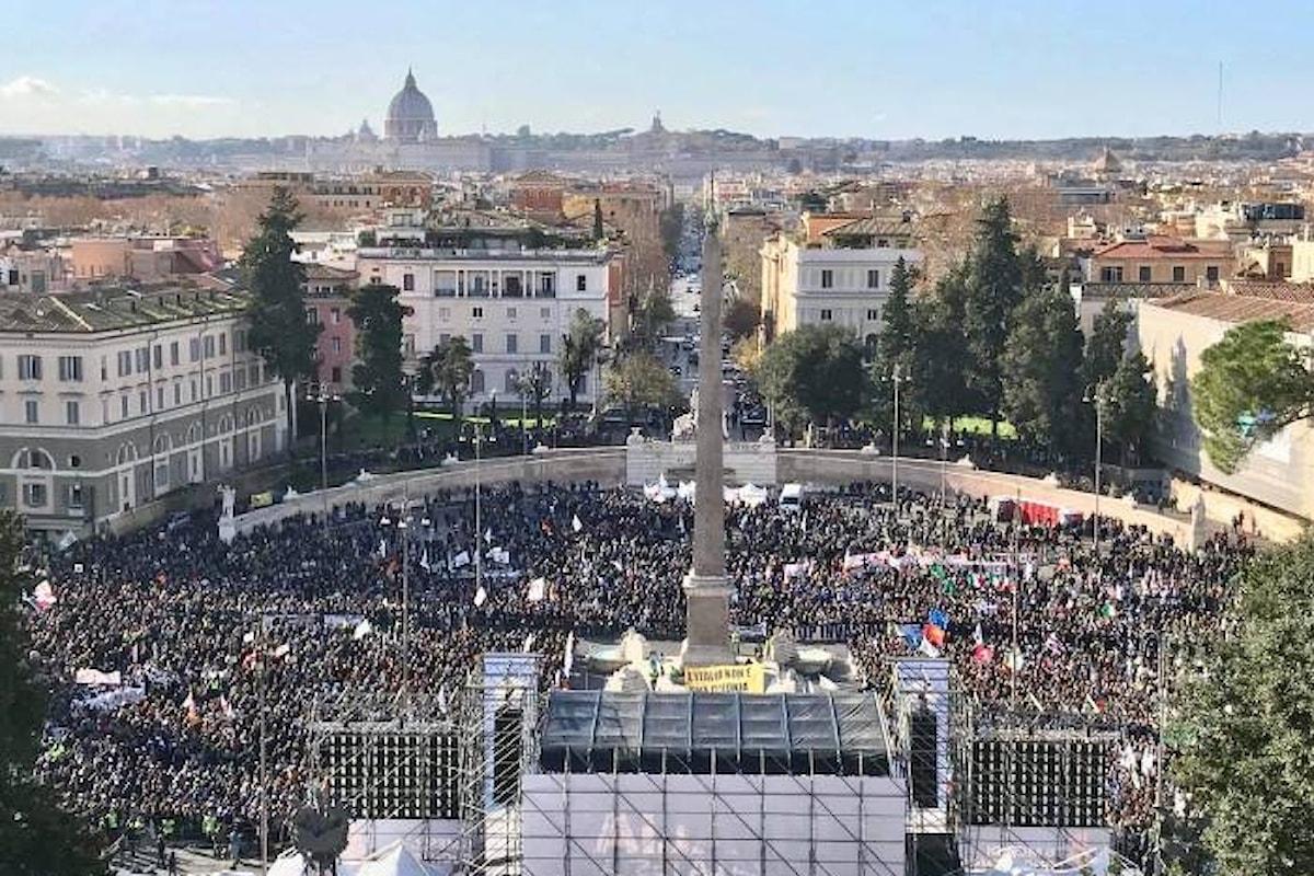L'8 dicembre di Salvini in piazza del Popolo a Roma