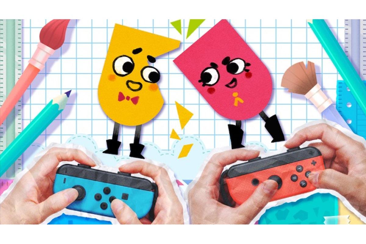 Snipperclips: il divertente puzzle game in arrivo su Nintendo Switch