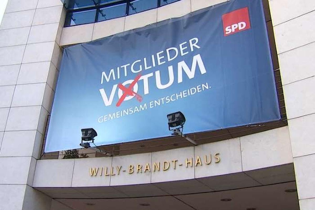 La Germania avrà un nuovo governo. L'SPD ha scelto di dire sì alla Große Koalition