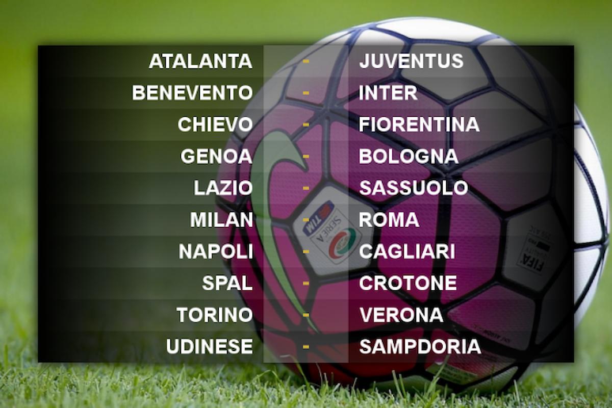 Segui live gli incontri della 7.a giornata di Serie A