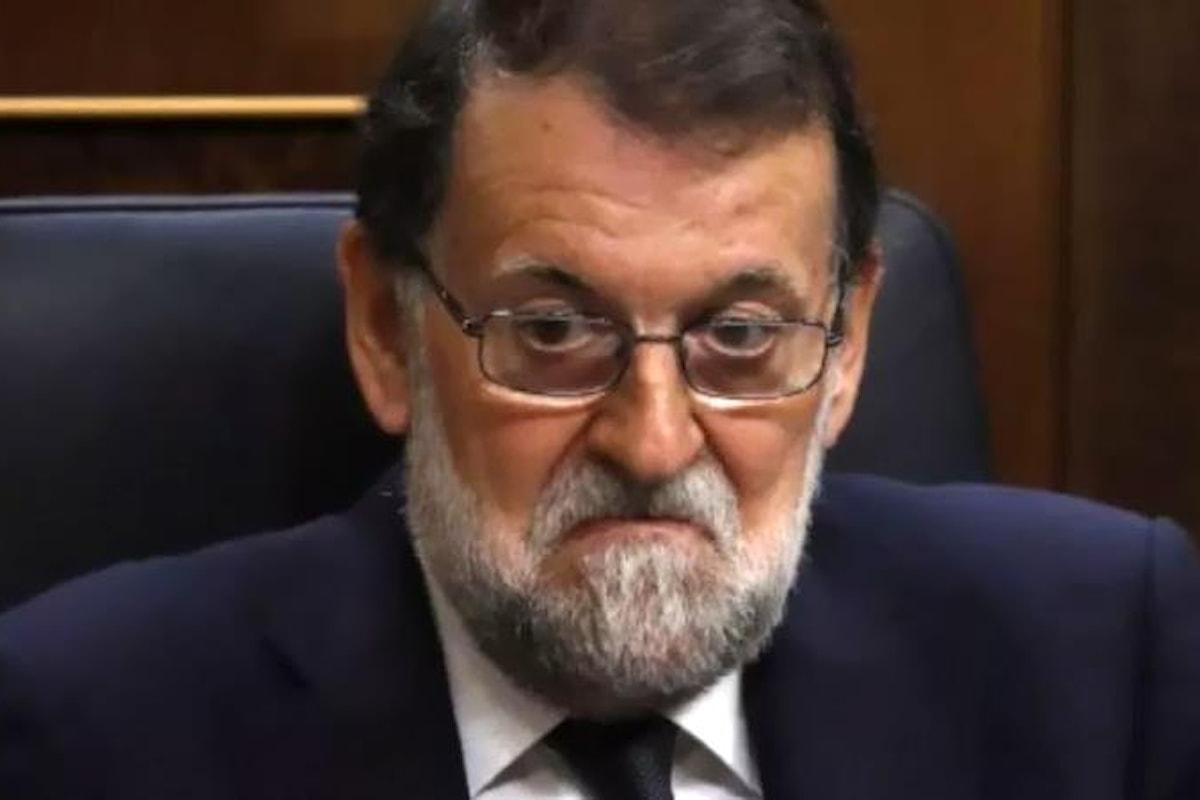 Spagna, il Partito Popolare collegato ai reati finanziari del caso Gürtel: il PSOE vuole sfiduciare Rajoy