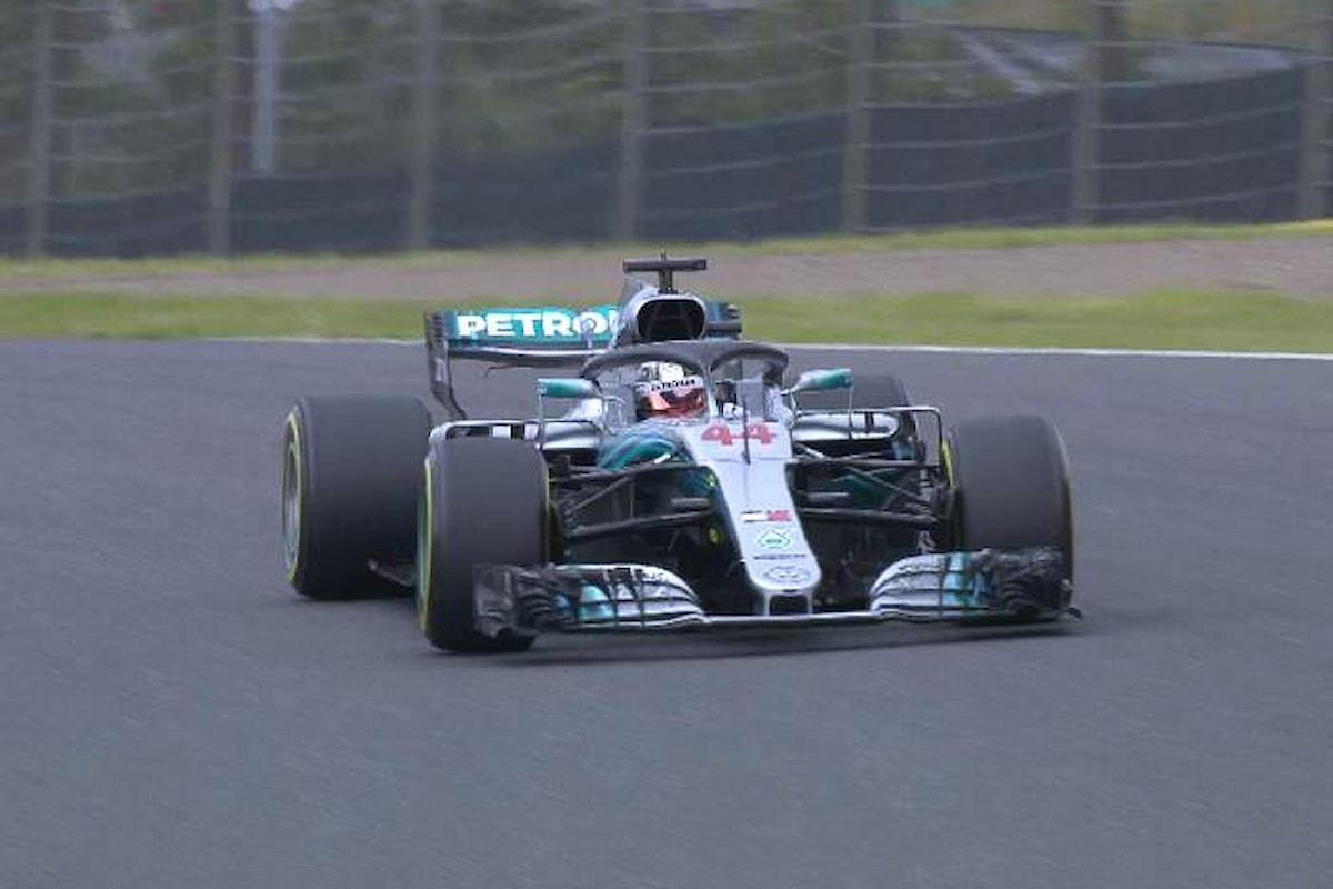 Hamilton il più veloce nelle libere di Suzuka, male Vettel