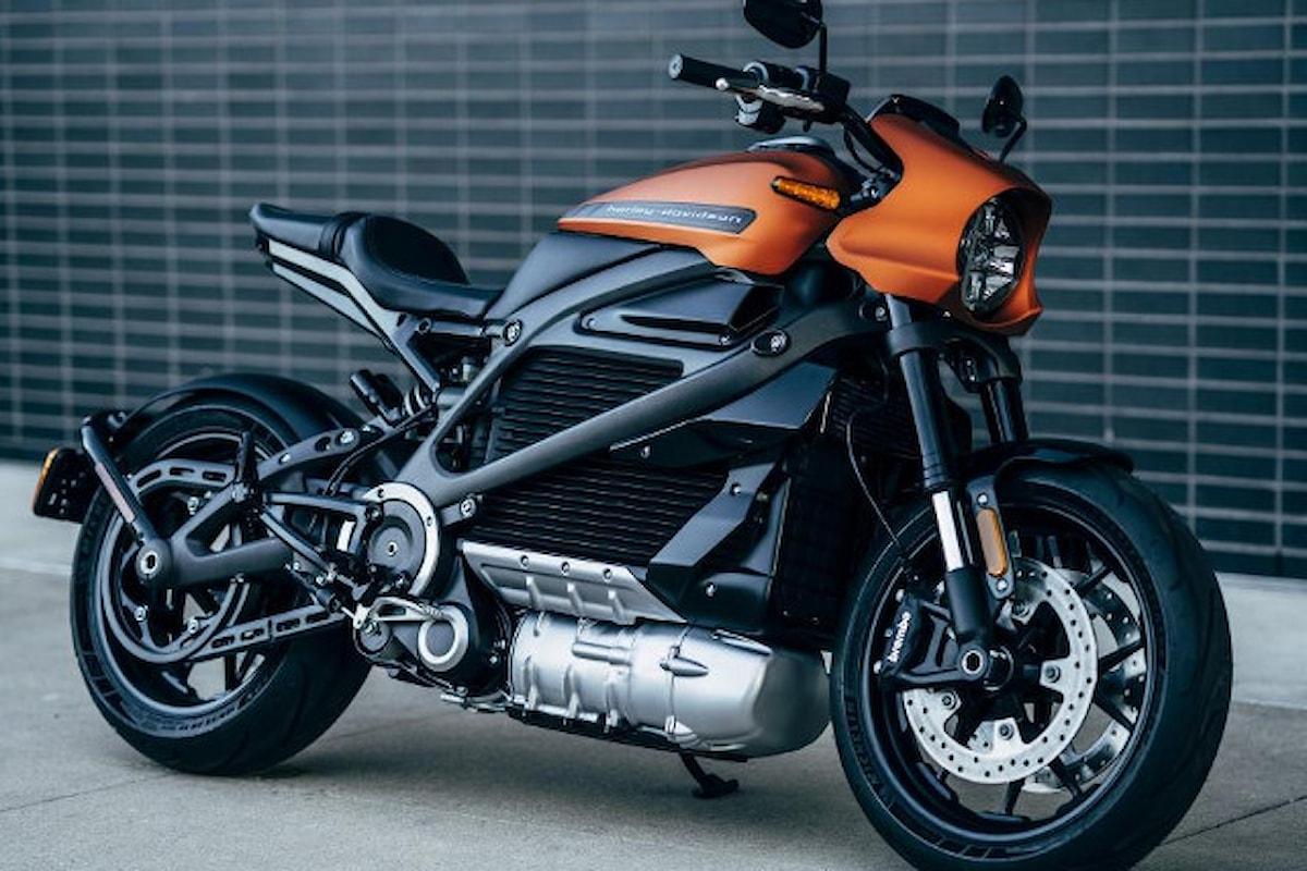 LiveWire: arriva la moto elettrica Harley-Davidson