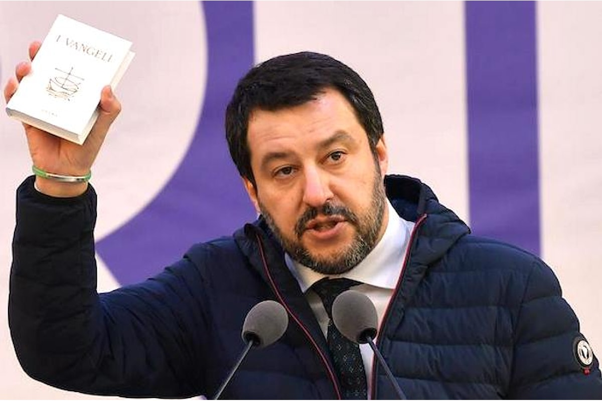 Salvini e i nazi(onal)-cattolici: un amore a prima vista
