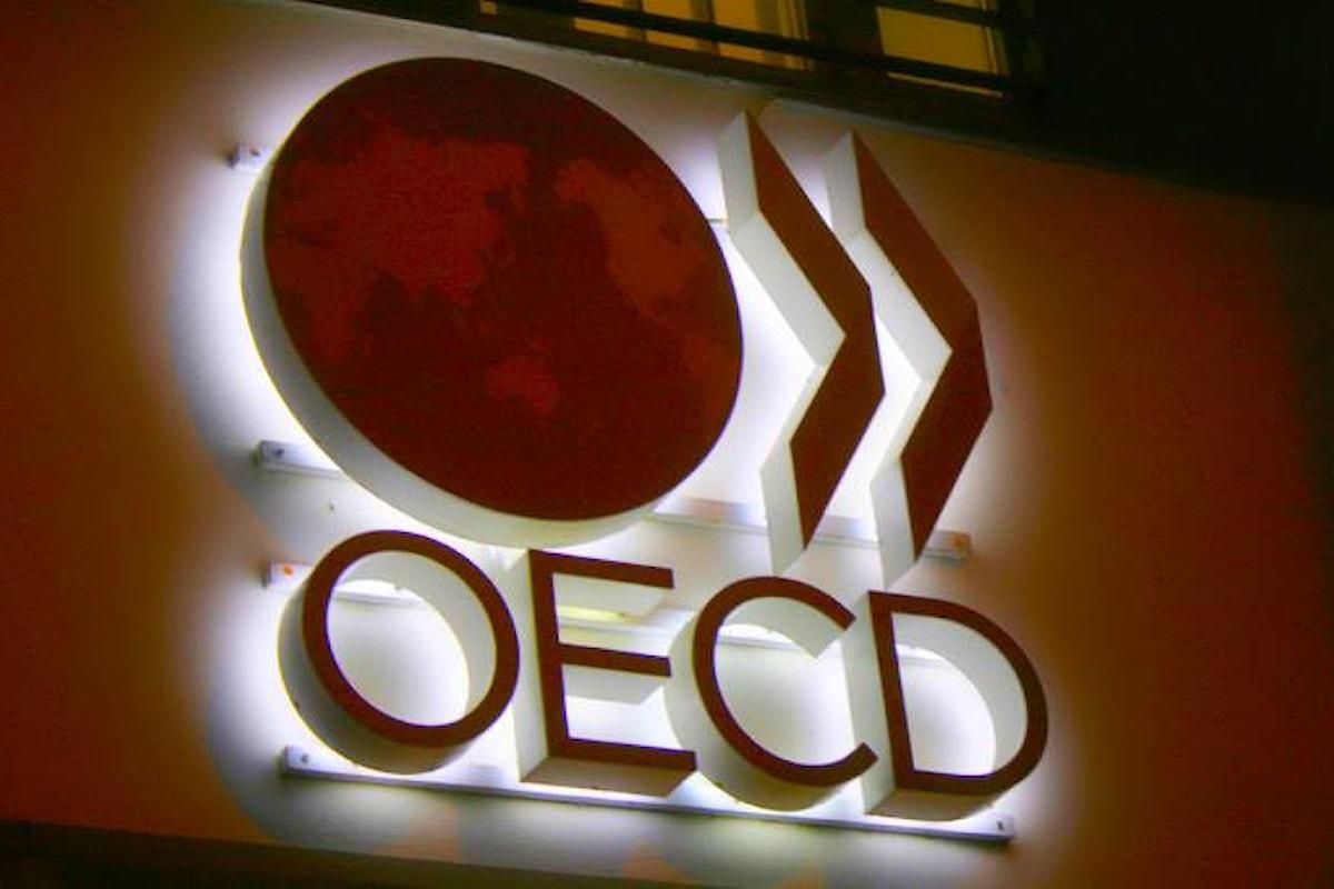 L'OCSE conferma la bassa crescita dell'economia. Il PIL dell'Italia fermo allo 0,8% anche nel 2017
