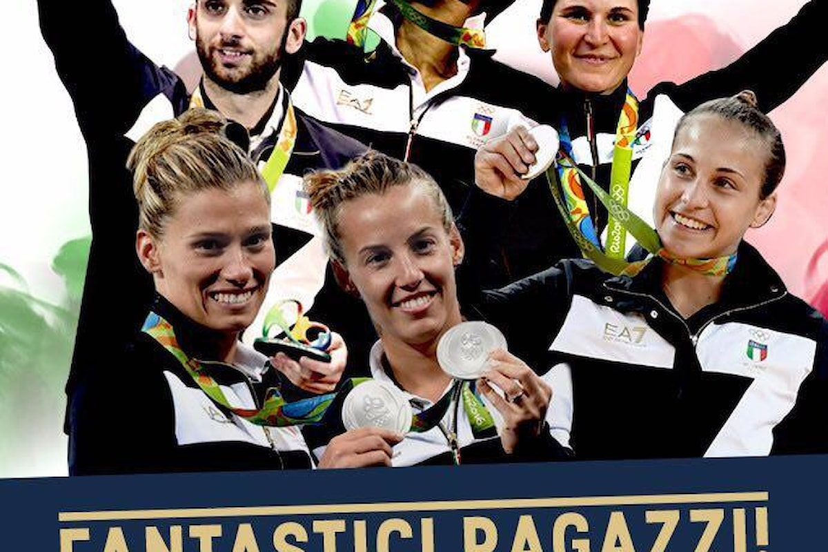 Rio 2016: pioggia di medaglia per l'Italia ieri alle Olimpiadi