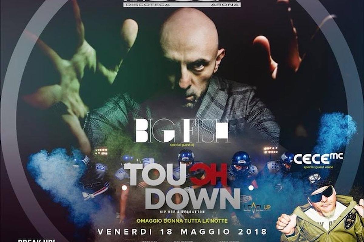 Touch Down Ibiza fa scatenare La Rocca di Arona (NO) con Big Fish