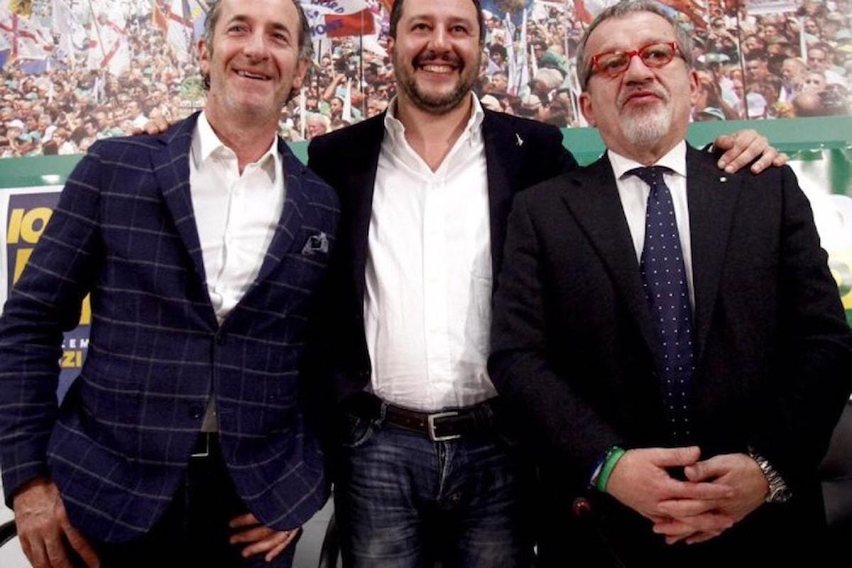 Vincono i sì negli inutili referendum sull'autonomia di Lombardia e Veneto