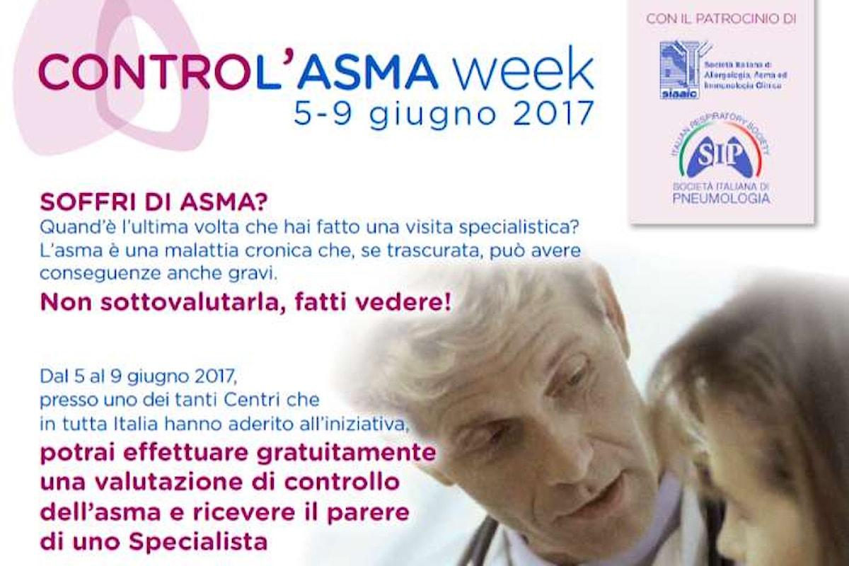 Anche in Toscana una settimana dedicata a visite di controllo gratuite per gli ammalati di asma