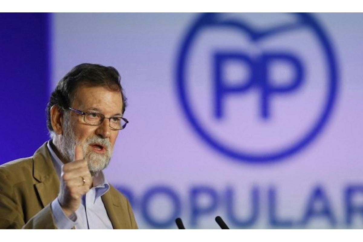 Rajoy a Barcellona per l'investitura del popolare Xavier García Albiol alle elezioni del 21 dicembre