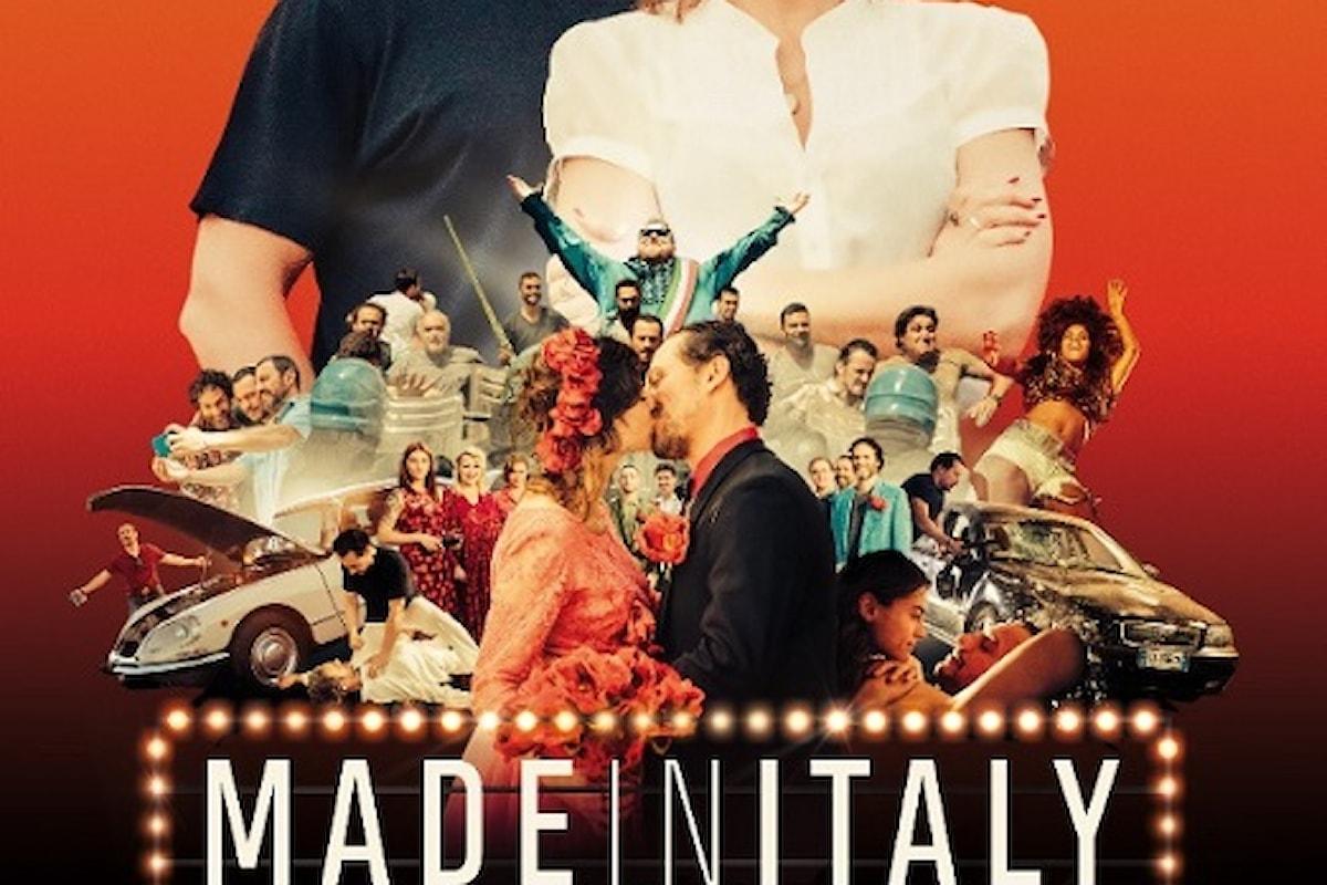 """Stefano Accorsi e Kasia Smutniak in """"Made in Italy"""", il nuovo film di Luciano Ligabue dal 25 gennaio al cinema"""